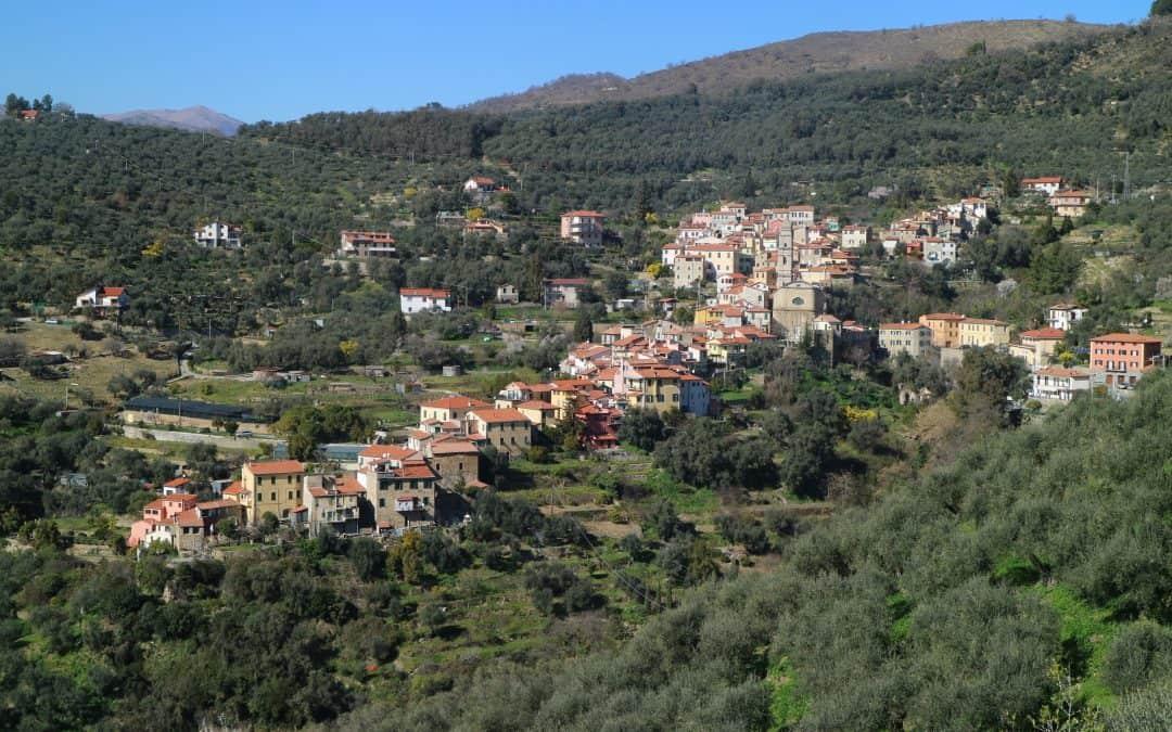 Montegrazie, an Italian hill town